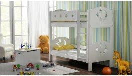 Zvětšit Patrová postel Pina 180/80 cm bílá