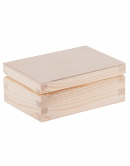 Krabička dřevěná 12x8,5x4 cm