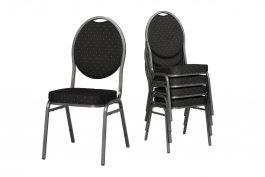 Cateringová/banketová židle Henry černá