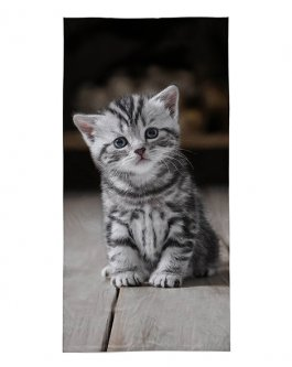 Osuška 140/70 cm kočička