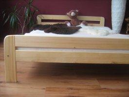 Postel Teddy 160 x 200 cm masiv borovice