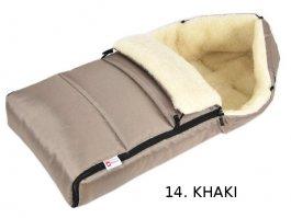 Fusak  K12 ovčí vlna - khaki