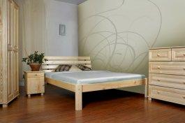 Zvětšit Postel Klára 160 x 200 cm masiv borovice