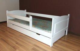 zväčšiť obrázok Detská posteľ 180x80 cm Jan + zásuvka + matrac - biela