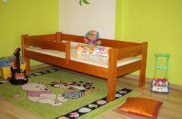Dětská postel 160x70 cm Kristián olše+matrace+prostěradlo