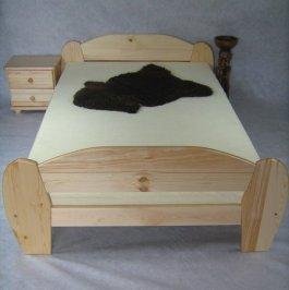 Zvětšit Postel Krystík 160 x 200 cm masiv borovice