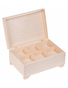 Kufřík sosna - 20/30 cm - s přihrádkami