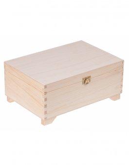 Kufřík sosna - 20/30 cm + 2 přihrádky + zapínání