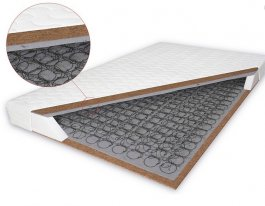 Zvětšit Bonelová matrace s kokosem Salerno 160x200 cm