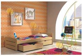 Postel Tereza 200x80 cm + matrace + šuplíky