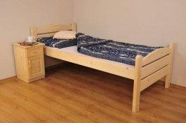 Senior postel Mariola 90x200  zvýšená - masiv smrk