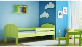 Dětská postel Aleš zelená 180x80 cm +matrace