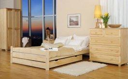Zvětšit Postel  Zdenka 120 x 200 cm masiv borovice