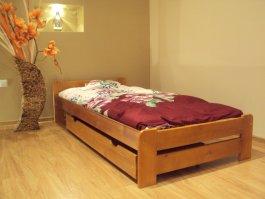 zväčšiť obrázok Šuplík pod posteľ 150 cm jelša