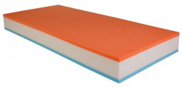 Matrace Molmat ORANGE 160/200 cm s potahem