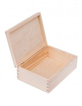 Zvětšit Krabička dřevěná 16x22x8 cm