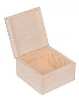zväčšiť obrázok Krabička drevená 20x20x13 cm
