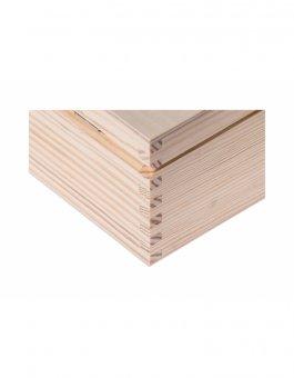Krabička dřevěná 22x16x10,5 cm