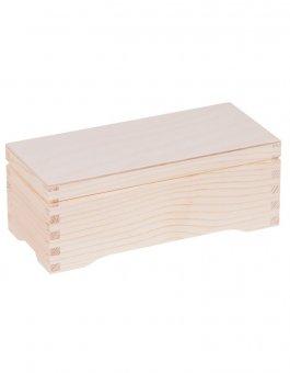 Krabička dřevěná na čaj 10,3x22,1x7,6 cm