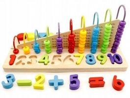 Edukační počítadlo - dřevěné kostky
