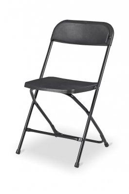 Židle skládací Pavla černá