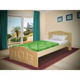 Postel Comfort 80/200 cm + matrace 10cm - masiv 3,5 cm