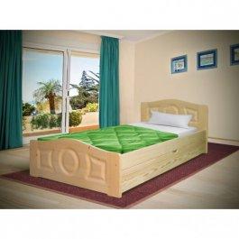 Postel Comfort 80/200 cm + matrace 10cm + šuplík - masiv 3,5 cm