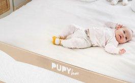 Zábrana na postel - Pupyhou Eva šedá