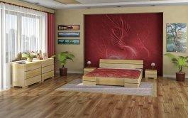Postel Tamara 140/200 cm masiv borovice