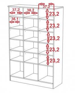 Regál N11 - Space