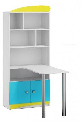 Regál s psacím stolem N36 - Space