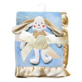 zväčšiť obrázok Detská deka - 3D modrá - dárkové balenie