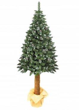 Vánoční stromek umělý - přírodní kmen 180 cm