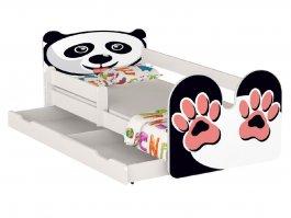 Postel Panda 180/80 cm + matrace + šuplík