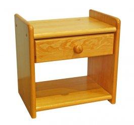 Noční stolek z masivu ILONA - olše