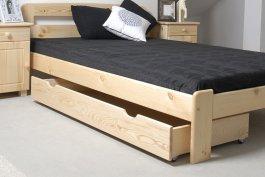 zväčšiť obrázok Šuplík pod posteľ 150 cm borovica