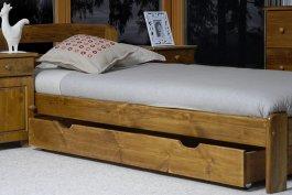zväčšiť obrázok Šuplík pod posteľ 150 cm dub