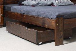 zväčšiť obrázok Zvýšený šuplík pod posteľ 98 cm orech