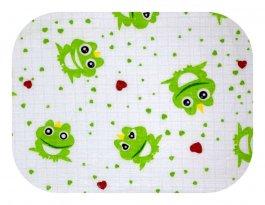 Zvětšit Plena bavlna potisk - žabky