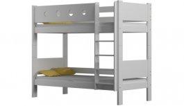 Zvětšit Patrová postel Vašek 180/80 cm - bílá