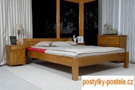 Zvětšit Postel Viktorka 160 x 200 cm dub - masiv borovice
