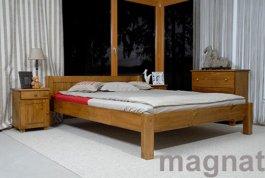 Zvětšit Postel Viktorka 140 x 200 cm dub - masiv borovice