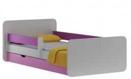 Postel Violet N20S 140/70 cm + matrace + šuplík