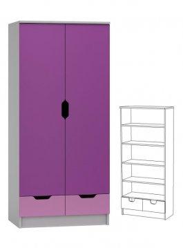 Skříň N25 - Violet