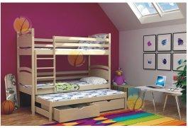 Zvětšit Patrová postel Pepík 180x80 cm + rošty zdarma