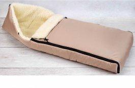 Dětský fusak zimní - 110 cm - béžový