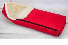 zväčšiť obrázok Detský fusak zimný 110 cm červený