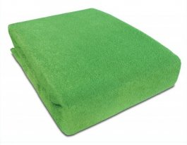 Prostěradlo froté nepropustné PVC 120/60 - zelené